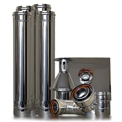 System kominowy spalinowo - powietrzny (turbo)